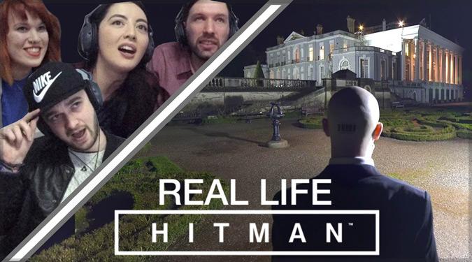 現実世界で再現した名作ゲーム「HITMAN」のプレイ映像!