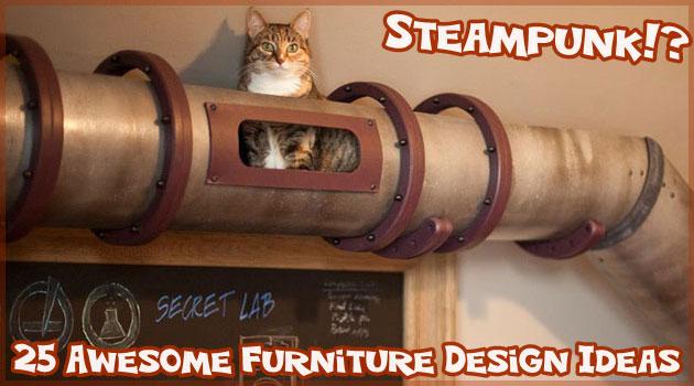 ネコと主人のための参考になるユニークな25の家具集