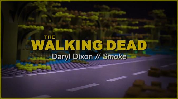 ウォーキング・デッドのダリル・ディクソンを主人公にしたレゴアニメ!