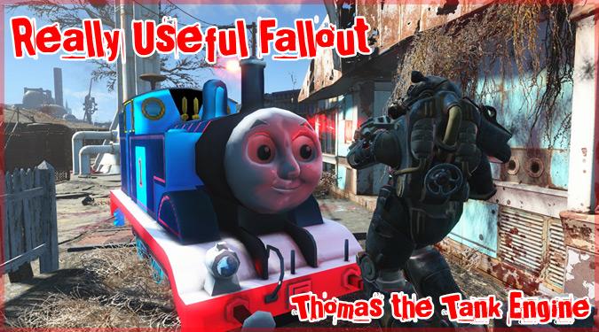 きかんしゃトーマスを出現させる不気味なMODがFallout4に登場!