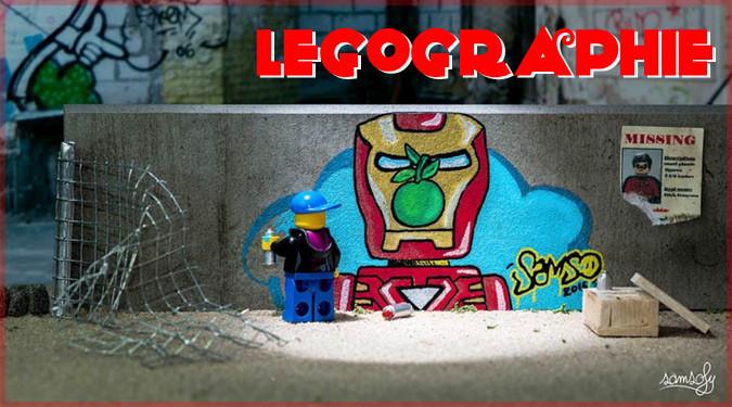 LEGOのミニフィグから見た世界を撮影したミニチュア写真集