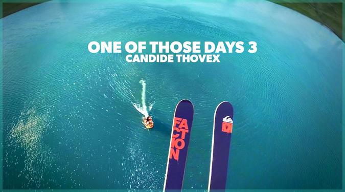 伝説的プロスキーヤーの目線から見る自由度の高い神業スキープレイ!