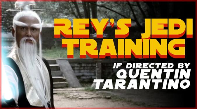 もしもタランティーノ監督がスターウォーズの映画を監督していたら?