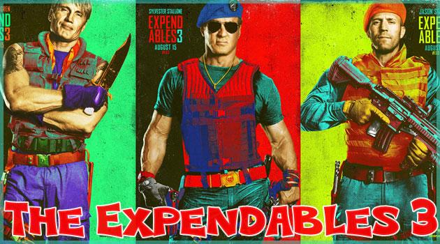 エクズベンダブルズ3のカラフルで超クールなポスターが登場