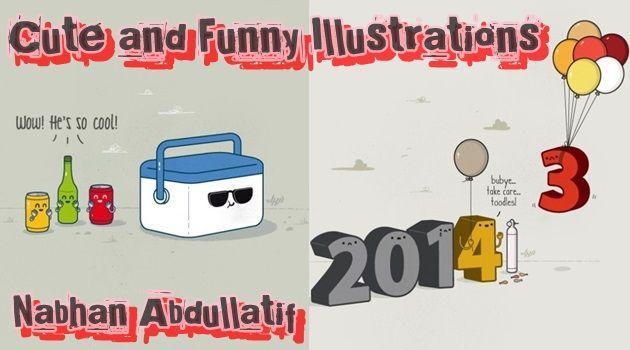 可愛いイラストにジョークを織り交ぜた独特な世界観の作品