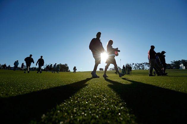 2014年マスターズ・ゴルフ・トーナメントの美しい風景と選手たち
