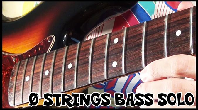 人気ベーシストによる0弦ベースを使ったユニークなソロ演奏!