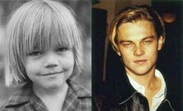どことなくスターの面影が・・・有名セレブリティの幼少期の写真