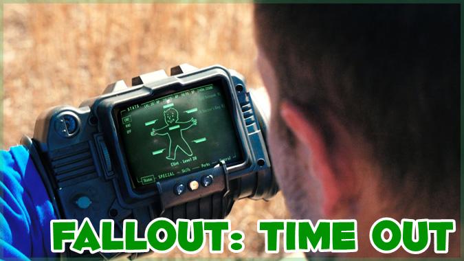 PipBoyを使っている間はどんな状況でも安全!Falloutのパロディ動画!