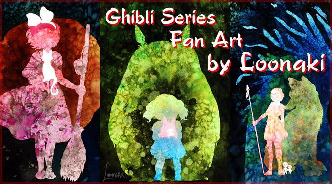 ドイツ人アーティストによるジブリの水彩画ファンアート!