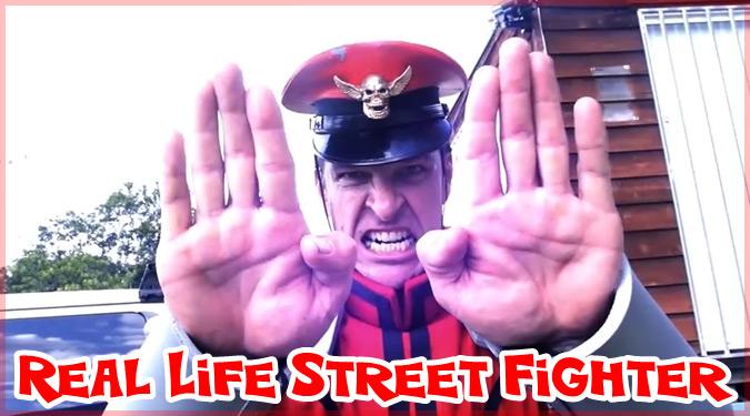ストリートファイターを現実で再現した面白すぎる動画作品