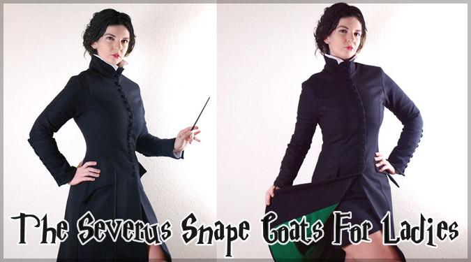 セブルス・スネイプのクールな女性向けコートが登場!