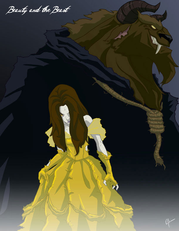 belle-as-horror-movie-character