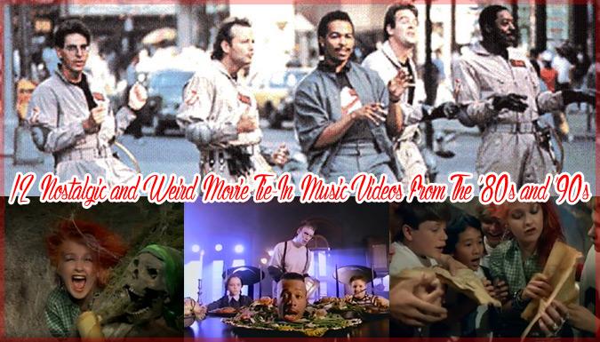 80年代と90年代の有名な映画の主題歌!ミュージックビデオ12選!