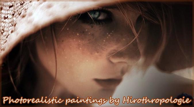 美しい女性を描いた驚くほどリアルな実写絵画作品!絵には見えない!