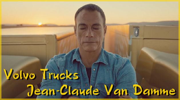 ジャン=クロード・ヴァン・ダムが出演するボルボのCMが凄い!