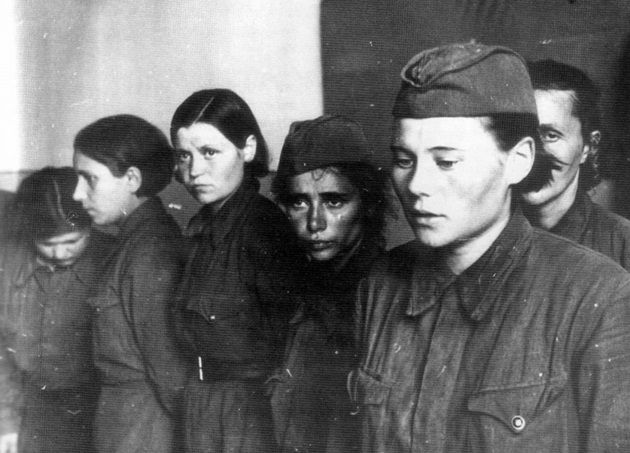 第二次世界大戦時、ソ連に従軍していた女性兵士たちの写真