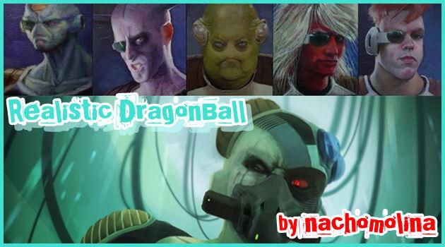 ドラゴンボールの悪役をリアルに描いたイラスト集!
