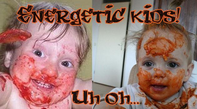 子どもたちの元気が大爆発したら大変なことになるGIF&画像集