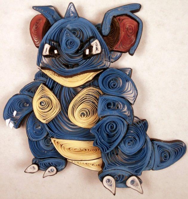 quilled-paper-pokemon-nidoqueen