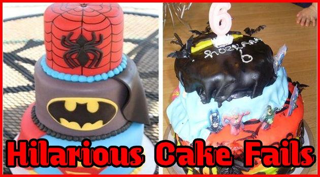 理想と現実は驚くほど違う!素人の作ったケーキ作品集!