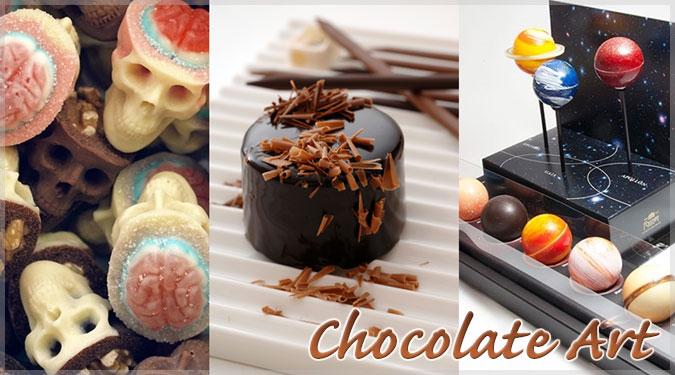 世界の最も創造的な15のチョコレート!食べるには勿体無い!