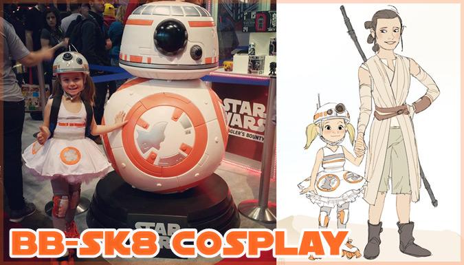 C2E2でBB-8にコスプレした5歳の女の子!BB-SK8のコスプレ&ファンアート集
