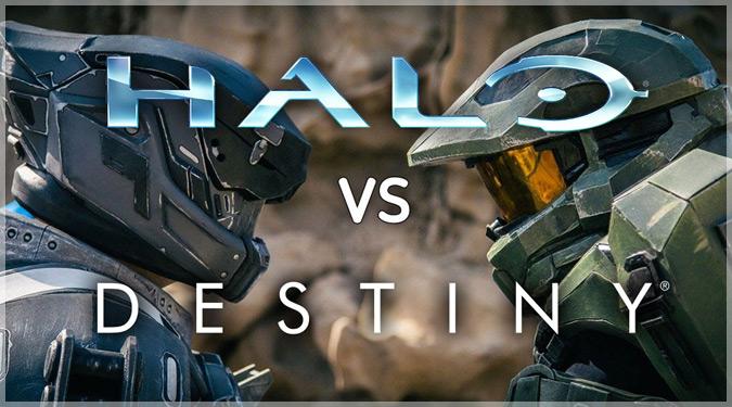 HaloとDestinyの戦いを描いた大迫力の実写版バトルムービー!