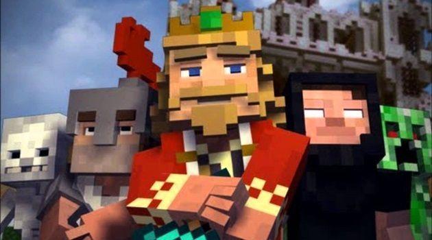 平和な王国に忍び寄るモンスターの影!マインクラフト王国物語
