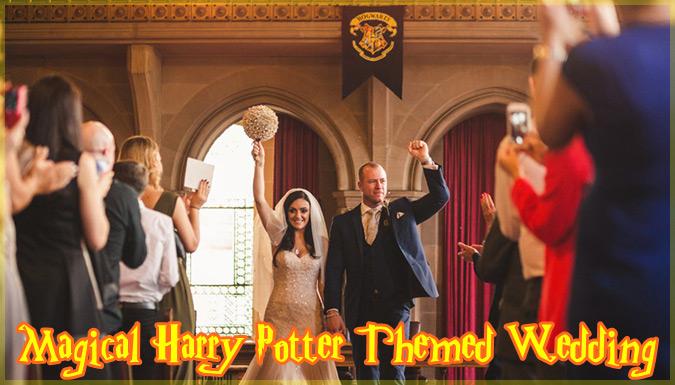ハリーポッターをテーマにした結婚式が凄いと話題に!