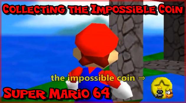 スーパーマリオ64で18年間誰も取れなかったコインをゲット!
