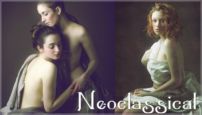新古典主義の魅惑的な写真シリーズ。まるで絵画のような美しさ
