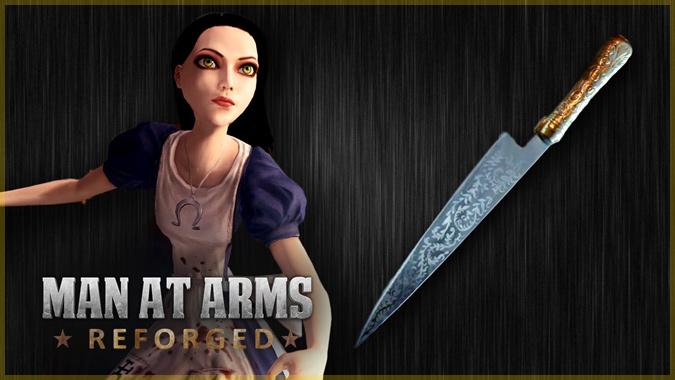 アリス:マッドネス・リターンズのヴォーパルナイフを現実で再現!