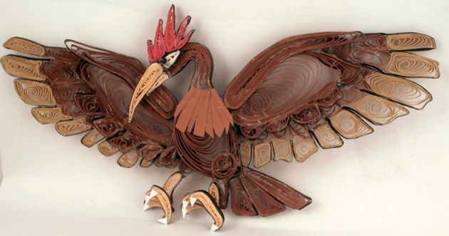 quilled-paper-pokemon-fearow