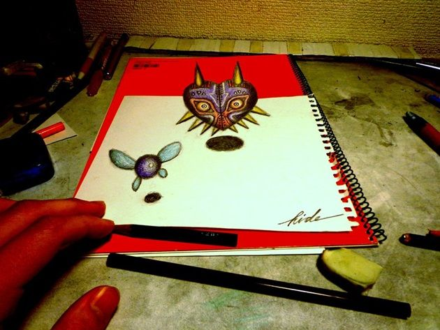 3d_drawing___majora_s_mask_by_nagaihideyuki-d74hi34