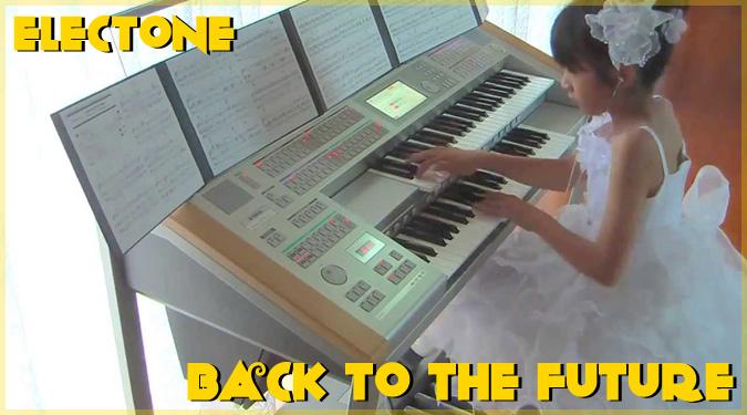 バック・トゥ・ザ・フューチャーの壮大なテーマ曲を演奏する日本の少女!