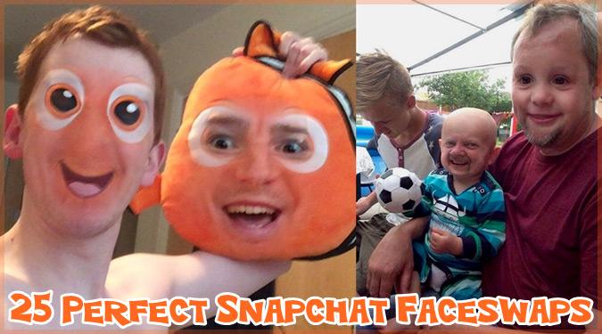 顔交換アプリで顔を入れ替えた人たちの面白い写真集!もはや怖いレベル!